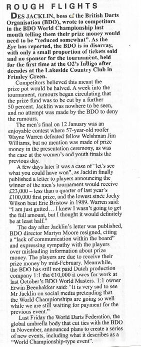 Marcus Stead in Private Eye