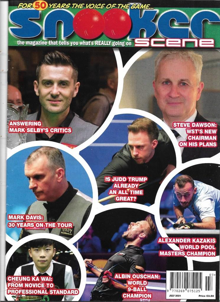 Marcus Stead Snooker Scene